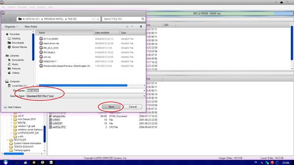 Selanjutnya tinggal menunggu proses loading selesai..