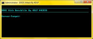 DDOS H4ck3d